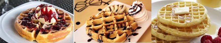 Kue Waffle yang Lembut