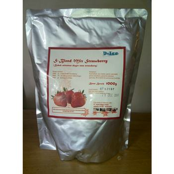 Jual Premix Es Blend Strawberry