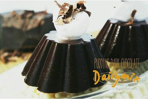 Bahan Puding Dark Chocolate