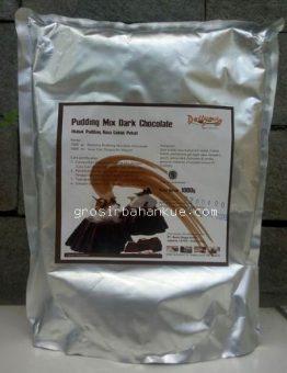 Jual Tepung Puding Instan Dark Chocolate, Kemasan 1 Kg